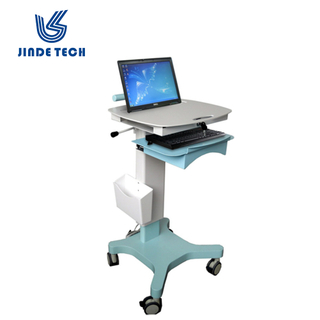 Medical workstation trolley laptop